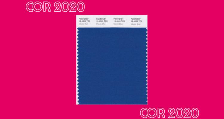Classic Blue: a cor de 2020